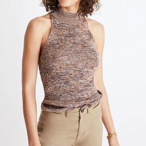 Madewell Knit Mock-neck Sweater Tank